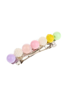 Candy (Beaded Acrylic Hair Barrette) by Kera & Co