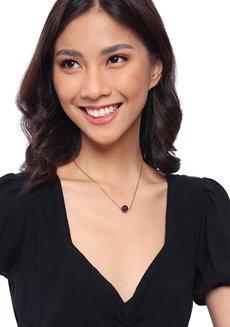 Amethyst Dainty Gemstone Necklace by Made By KCA