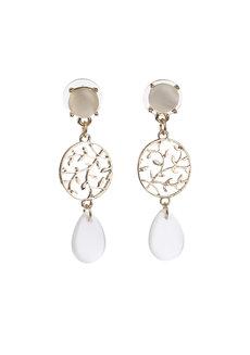 Millie (Acrylic Drop Earrings) by Kera & Co