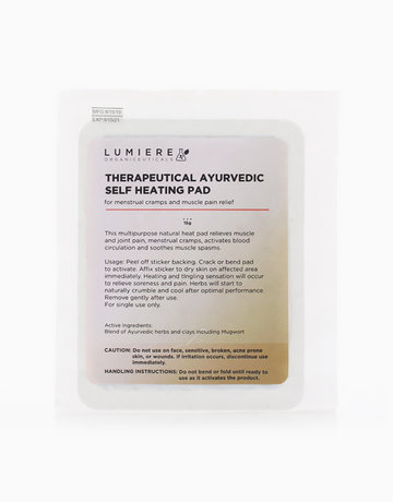 Therapeutic Self Heating Pad by Lumiere Organiceuticals