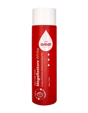 MegaRestore Night Time Beauty Toner (150ml) by OMO! White