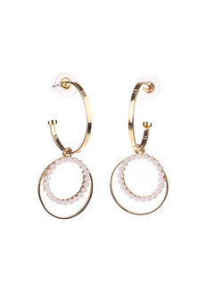 Sophie Semi-Hoops Earrings by EI Project