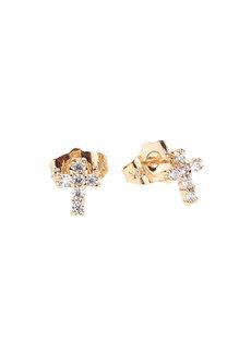 Lia Cross Earrings by Znapshop