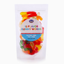 12 Flavor Gummy Worms (200g) by Candy Corner