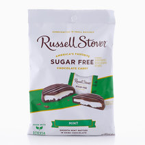 Russell Stover Sugar-Free Mint Patties Dark Chocolate (85g) by Candy Corner