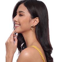 Dianne (Gold Circle Earrings) by Kera & Co