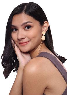 Pipa (Acrylic Drop Earrings) by Kera & Co