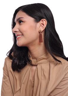 Paiva (Acrylic Drop Earrings) by Kera & Co