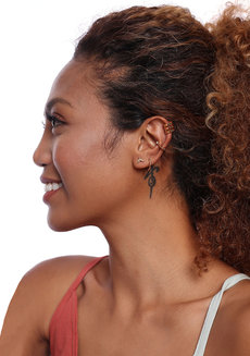 Joan (Gold Earring Set) by Kera & Co