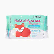 Natural Pureness Premium Wipes (20s) by K-MOM