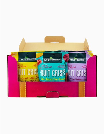 Adventure Pack: 6-in-1 Fruit Crisps by Oh So Healthy