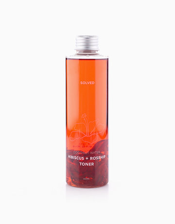 Coconut Water Hibiscus + Rosehip Toner (200ml) by Solved