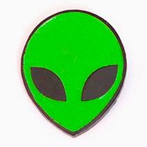 Alien Enamel Pin (Glow-In-The-Dark) by Cool Girls Club