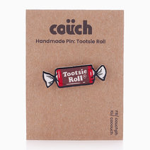 Tootsie Roll Handmade Pin by COUCH