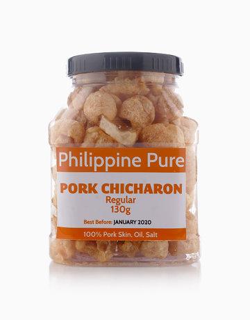 Regular Pork Chicharon (130g Jar) by Philippine Pure