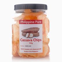 Cassava Chips (150g Jar) by Philippine Pure