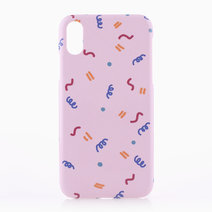 Confetti Phone Case XR by El Caja Cases