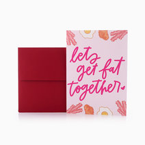 Fat Together Folded Card by Studio 13 PH