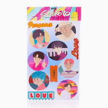 BTS Boy with Luv Sticker Sheet by Studio 13 PH