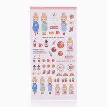 Girls Who Brunch Clear Sticker by Karagami
