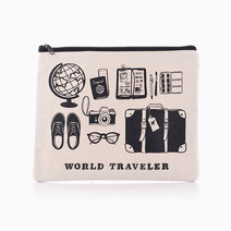 World Traveler Pouch by Shop Abbey Sy