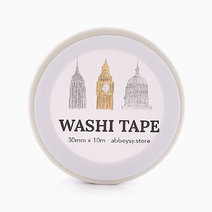 Buildings Washi Tape by Shop Abbey Sy