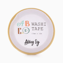 Alphabet Washi Tape by Shop Abbey Sy