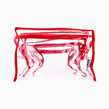 Clear Square Pouch Set by Keeping It Together