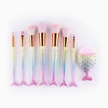 8-Piece Mermaid Brush Set by Mermaid Dreams