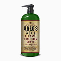 Arlo's 3-in-1 Cleanse, Condition, Shave (1L) by Arlo's Men Care