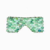 Luxury Green Aventurine Eye Mask by Crystal Beauty
