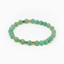 Fortune Awaits Aventurine Crystal Bracelet by The Calm Chakra
