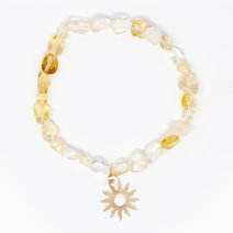 Radiance Citrine Crystal Bracelet by The Calm Chakra