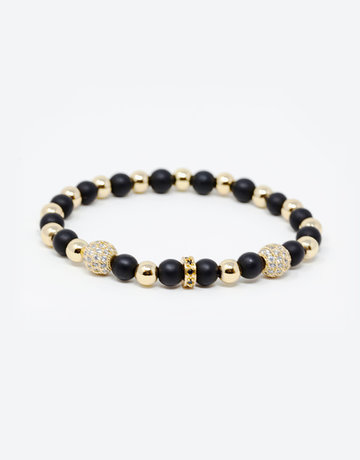 Achiever Black Onyx Crystal Bracelet by The Calm Chakra