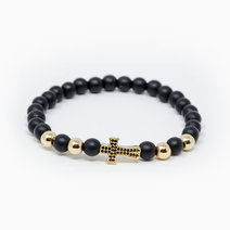 Elevate Black Onyx Crystal Bracelet by The Calm Chakra
