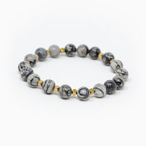 Creative Endurance Picasso Jasper Crystal Bracelet by The Calm Chakra