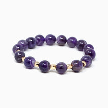 My Intuitive Ally Amethyst Crystal Bracelet by The Calm Chakra