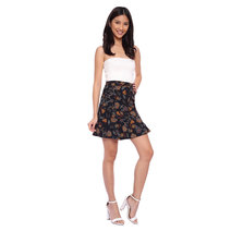 Flounce Hem A-Line Skirt by The Fifth Clothing