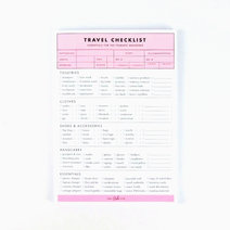Travel Checklist by Cool Girls Club