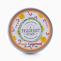 Orange & Peppermint Soy Candle (4oz) by Fragrant Home Candles