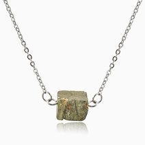 Pyrite Wealth & Abundance Necklace by Stones for the Soul