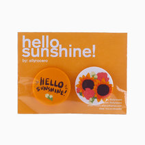 Hello Sunshine Pin Set by allyrocero