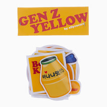 Gen Z Yellow Sticker Pack by allyrocero
