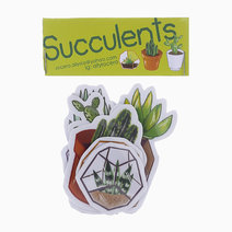 Succulent Sticker Pack by allyrocero