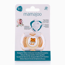 Silicone Orthodontic Soother (Tiger) by Mamajoo