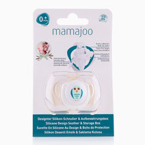 Silicone Orthodontic Soother (Owl) by Mamajoo