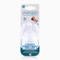 Silicone Bottle Teats with Box (2s) by Mamajoo