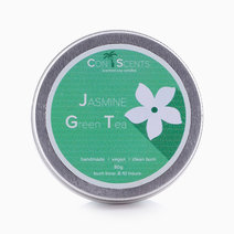 Jasmine Green Tea Scented Soy Candle by Conscents PH