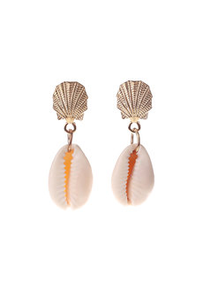 Darcy Shell Earrings by Dusty Cloud