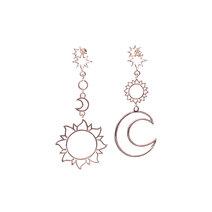 Sonnie Moon and Sun Earrings by Dusty Cloud